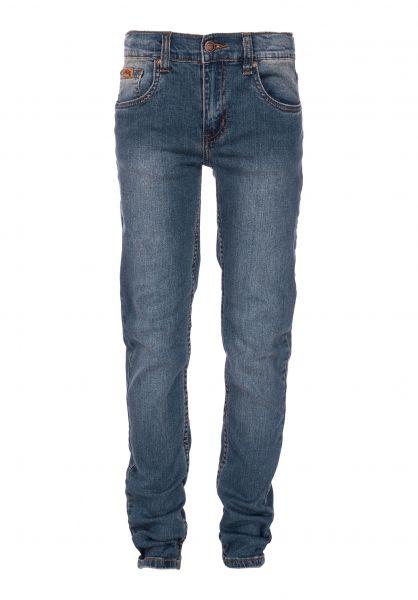 TITUS Hosen und Jeans Tube Fit Kids blue Vorderansicht