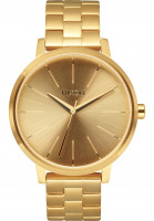 Nixon Uhren The Kensington gold Vorderansicht