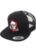 Powell-Peralta-Caps-Ripper-Trucker-black-Vorderansicht