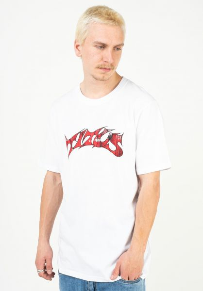 TITUS T-Shirts Schranz white vorderansicht 0373578