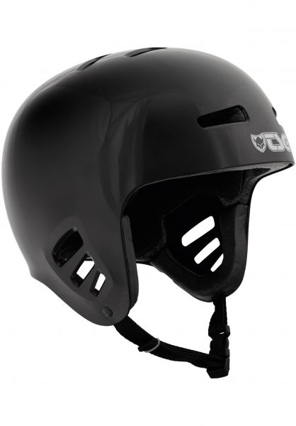TSG Helme Dawn Solid Color black Vorderansicht