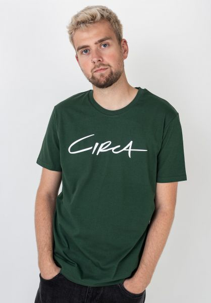 C1RCA T-Shirts Select forestgreen vorderansicht 0398185