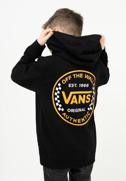 Vans Hoodies Authentic Checker black vorderansicht 0446296