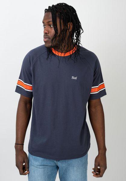 Brixton T-Shirts Stith II washednavy-tiger vorderansicht 0321477