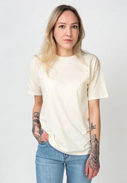Carhartt WIP T-Shirts W´ Neo natural-popcoral vorderansicht 0321028