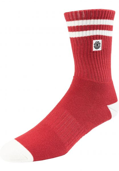 Element Socken Clearsight pompeianred vorderansicht 0631674