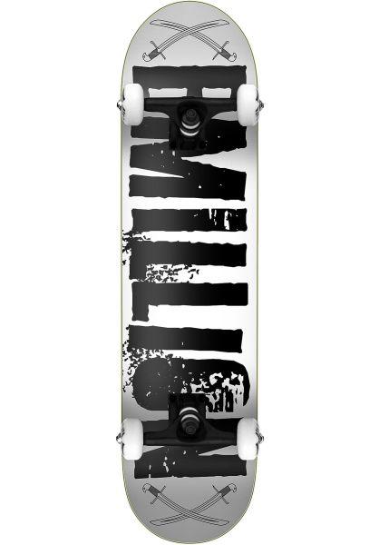 EMillion Skateboard komplett Pirates grey-black vorderansicht 0162557