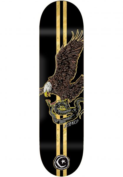 Foundation Skateboard Decks Servold French Eagle black vorderansicht 0264813