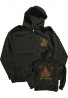 Toy-Machine Zip-Hoodies Pyramid black Vorderansicht