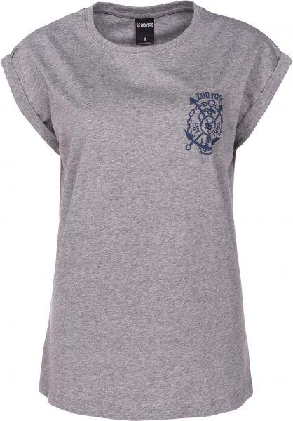 Zoo York T-Shirts Southstreet heathergrey vorderansicht 0398655