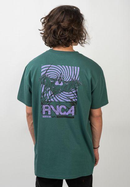 RVCA T-Shirts Vampire Bat alpine vorderansicht 0320551