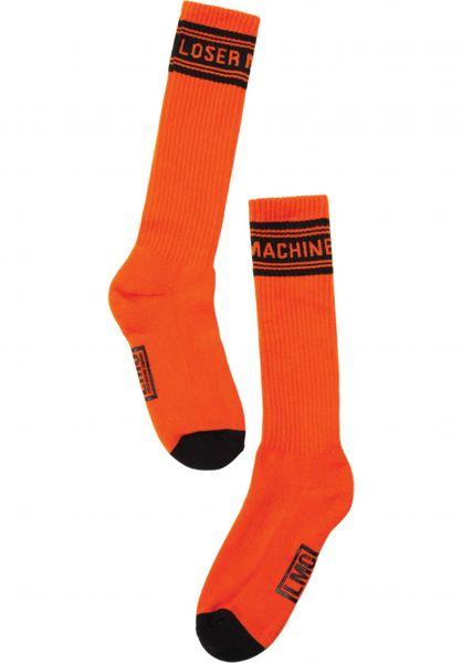 Loser-Machine Socken Gardena orange vorderansicht 0631906