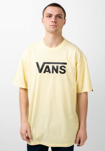 Vans T-Shirts Classic doublecream-black vorderansicht 0361788