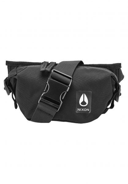 Nixon Hip-Bags Trestles allblack vorderansicht 0169123