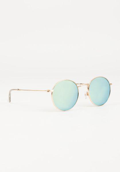 CHPO Sonnenbrillen Liam gold-greenmirror vorderansicht 0590625
