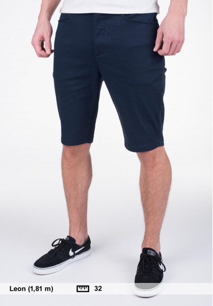 Element Chinoshorts Sawyer eclipsenavy Vorderansicht