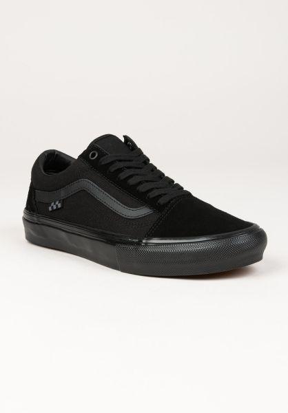 Vans Alle Schuhe Skate Old Skool black-black vorderansicht 0604963