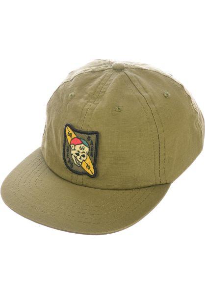 Dark Seas Caps Hicks army vorderansicht 0566450