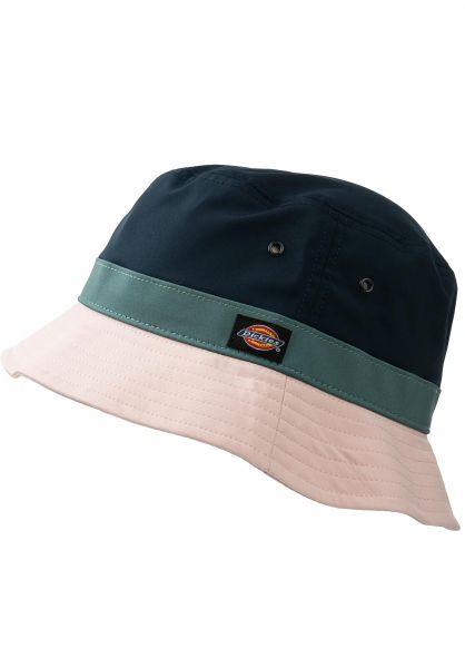 Dickies Hüte Twin City Bucket Hat darkblue vorderansicht 0580384