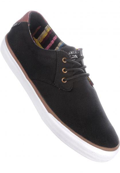 Lakai Alle Schuhe MJ black-brown Vorderansicht