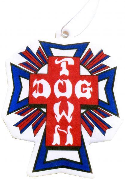 Dogtown Verschiedenes Air Freshener Cross red-blue vorderansicht 0971422