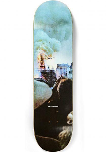 Polar Skate Co Skateboard Decks Grund Notre Dame Slick multicolored vorderansicht 0266785