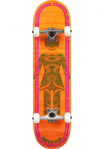 Girl Skateboard komplett Gass Vibrations multicolored vorderansicht 0162861
