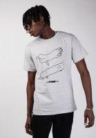 dedicated-t-shirts-stockholm-cat-flip-greymelange-vorderansicht-0320240