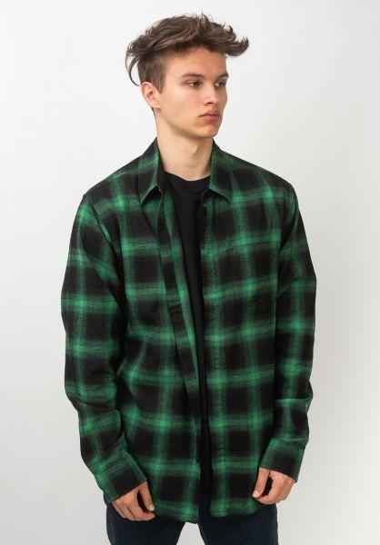 Emerica Hemden langarm Torrence green-black vorderansicht 0411956