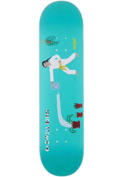 Enjoi Skateboard Decks Berry Over Board IL lightblue vorderansicht 0265867