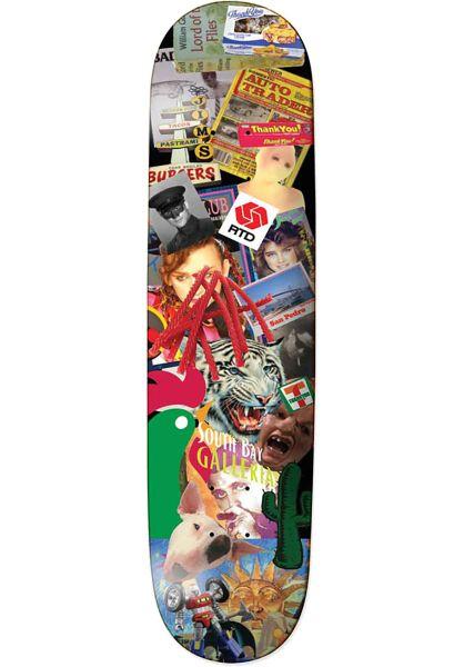 Thank You Skateboards Skateboard Decks Daewon Scrapbook multicolored vorderansicht 0262319