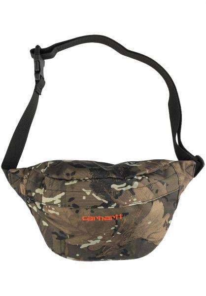 Carhartt WIP Hip-Bags Payton Hip Bag camocombi-safetyorange vorderansicht 0169077