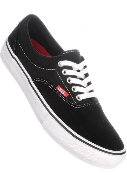 Vans Alle Schuhe Era Pro black-white-gum Vorderansicht
