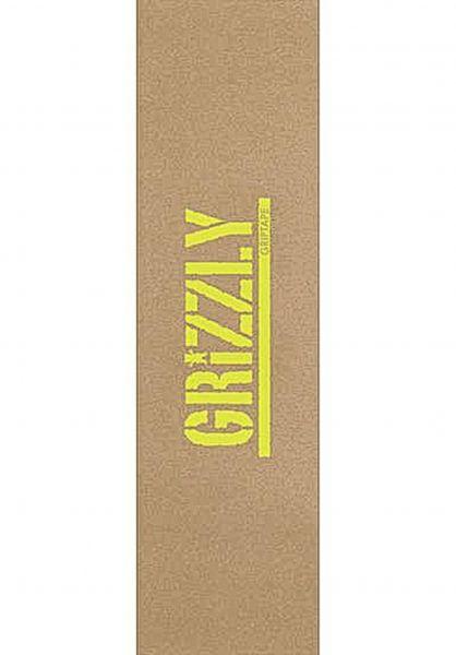 Grizzly Griptape Stamp Neccessities beige vorderansicht 0142461