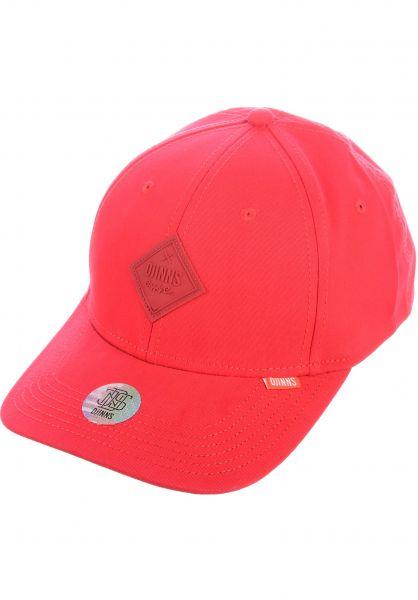 Djinns Caps Truefit Flex Basic Beauty red vorderansicht 0566490