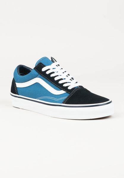 Vans Alle Schuhe Old Skool navy-white vorderansicht 0601244