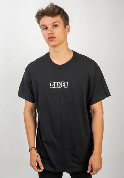 Baker T-Shirts Brand Logo black vorderansicht 0383207