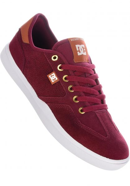 DC Shoes Alle Schuhe Vestrey S AR red-brown-white vorderansicht 0604629