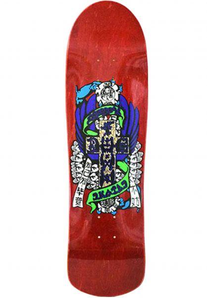 Dogtown Skateboard Decks Eric Dressen Pool natural vorderansicht 0114765