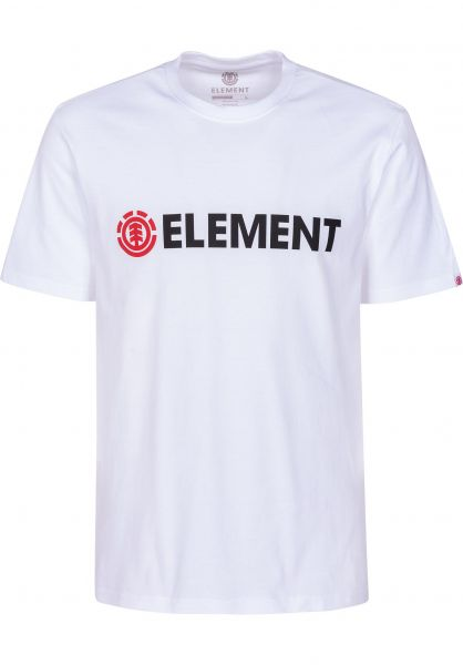 Element T-Shirts Blazin opticwhite vorderansicht 0397805