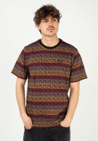 huf-t-shirts-jacquard-olive-vorderansicht-0323412