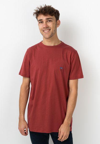 Forvert T-Shirts Hendrik red vorderansicht 0320119