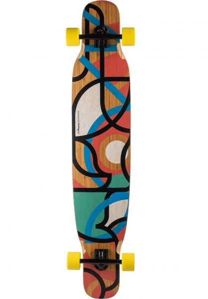 Loaded Longboards komplett Bhangra V2 Freestyle Dancing Flex 1 multicolored vorderansicht 0194290