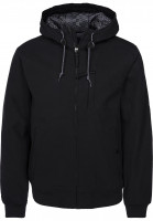 RVCA Winterjacken Hooded Bomber black Vorderansicht