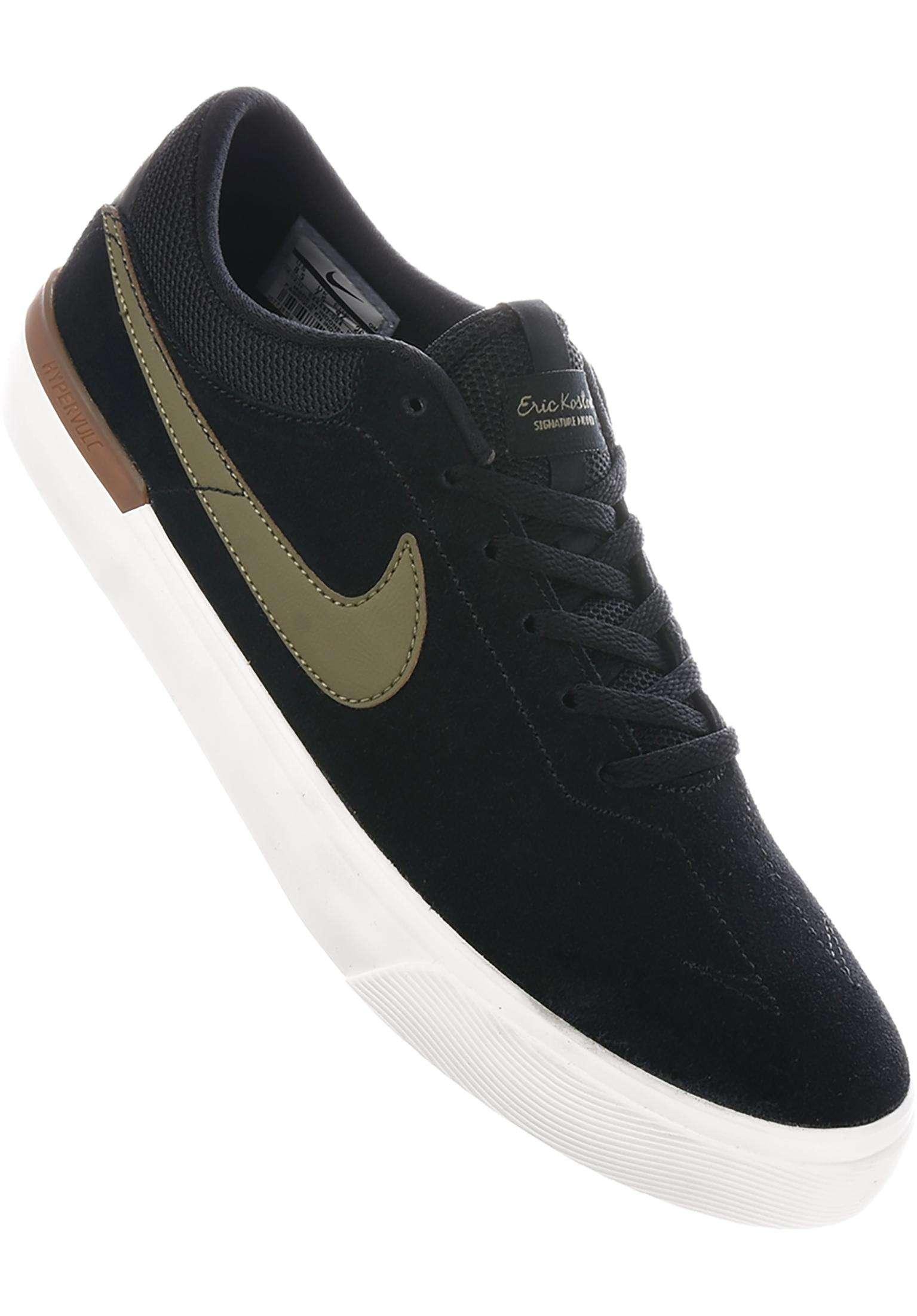 36ddecae0995 Koston Hypervulc Nike SB All Shoes in black-mediumolive for Men