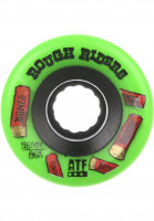 Bones Wheels Rollen ATF Rough Riders Shotgun 80A green Vorderansicht