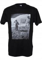 GUDE-T-Shirts-Mondlandung-black-Vorderansicht