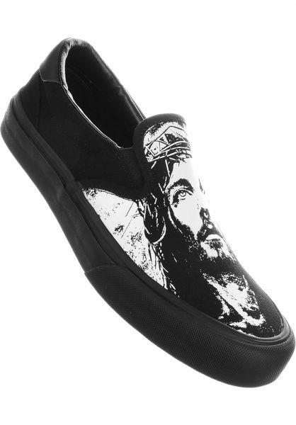 Straye Alle Schuhe Ventura Canvas jesus-black vorderansicht 0604714