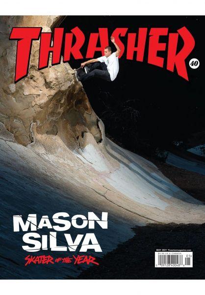 Thrasher Verschiedenes Magazine Issues 2021 May vorderansicht 0972704