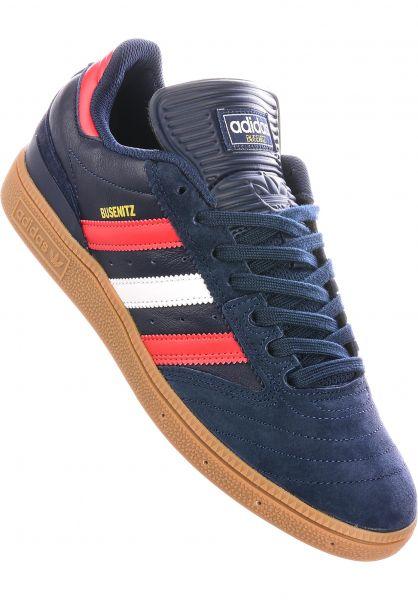 adidas-skateboarding Alle Schuhe Busenitz Pro collegiatenavy-scarlet-white vorderansicht 0601574